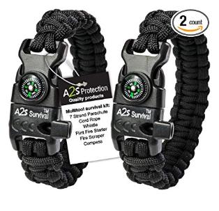 Bracelet de survie A2S