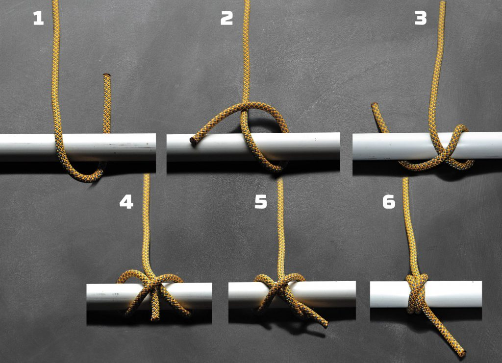 Nœud constricteur en paracorde